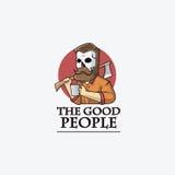 Хорошие человеки Стоковое Изображение RF