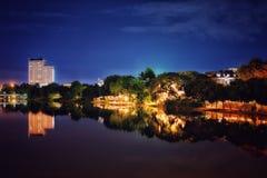 Хороший взгляд берега реки Пинга Стоковое Изображение