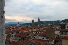 Хороший взгляд города Флоренса в Италии Стоковые Фотографии RF