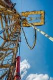 Хороший сверлить для продукции нефти и газ на поле стоковые изображения rf