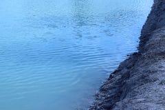 Хорошо, отсутствие травы на пруде Стоковая Фотография