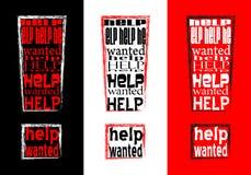 хотят помощь, котор Стоковые Фото
