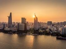 Хошимин Вьетнам Сайгон стоковые фотографии rf