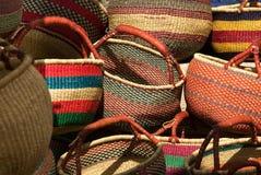 ходить по магазинам корзин Стоковая Фотография RF