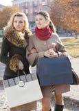 Ходить по магазинам подруг Стоковая Фотография RF
