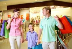 ходить по магазинам успешный Стоковая Фотография RF