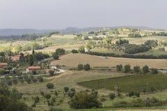 холмистый ландшафт Стоковая Фотография RF