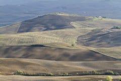холмистый ландшафт Стоковое Изображение RF