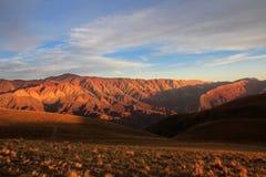 14 холмов цветов, colores cerro de los 14, Hornocal, Аргентина Стоковое Изображение