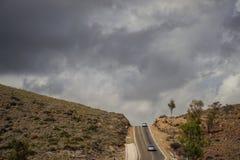Холмы ландшафта Стоковое фото RF