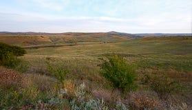 Холмы в предыдущей осени Стоковые Изображения