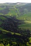 Холмы горы в Adygeya Стоковое Изображение