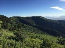 Холмы горы стоковые изображения rf