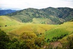 Холмы и буераки Стоковое фото RF