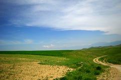Холмы и горы Стоковое Изображение