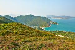 Холмы и море Стоковые Изображения RF