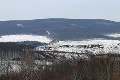 Холмы и дорога Стоковые Изображения RF