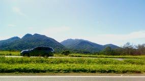 Холмы обочины Стоковые Фото