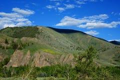 Холмы около Sun Valley, Айдахо Стоковое фото RF