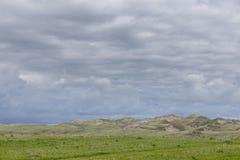 Холмы песка Стоковое Изображение