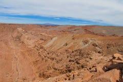 Холмы пустыни Atacama Стоковое Изображение RF
