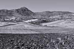 Холмы Сицилии Стоковые Фото