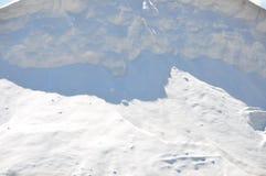Холмы соли в Санте Pola, Испании Стоковое Изображение