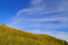 Холмы степи Стоковая Фотография