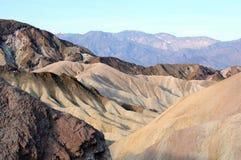 Холмы Death Valley Стоковые Фото