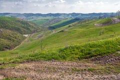Холмы Imola стоковое изображение