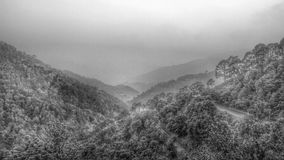 Холмы Kasauli Стоковые Фотографии RF