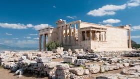 Холм акрополя, Афины стоковая фотография rf