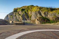 Холм замкового камня Начните идя следы вокруг горы Стоковое фото RF