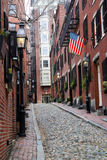 Холм маяка, Бостон стоковая фотография rf