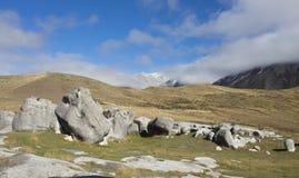 холм Новая Зеландия замока стоковое изображение