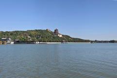 Холм долговечности берега озера Kunming летнего дворца Пекина Стоковое Фото