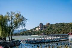 Холм долговечности берега озера Kunming летнего дворца Пекина Стоковые Изображения RF