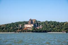 Холм долговечности берега озера Kunming летнего дворца Пекина Стоковое Изображение