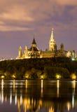 Холм парламента Оттавы Стоковые Фотографии RF