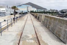 Холм портового района и сигнала стоковые фото