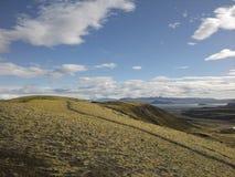 Холм с путем Стоковые Изображения RF