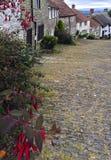 Холм Shaftesbury Дорсет золота Стоковая Фотография RF