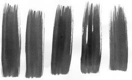 5 ходов краски Стоковые Фотографии RF