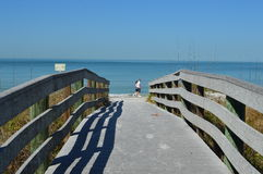 Ходоки пляжа Стоковое фото RF