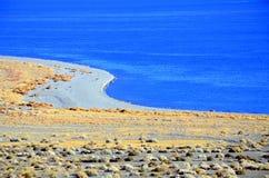 ходок Невады озера Стоковое Изображение RF