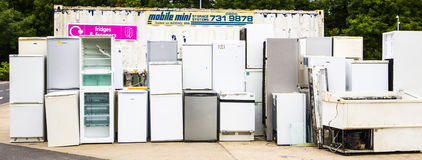 Холодильник рециркулируя пункт Стоковое фото RF