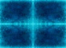 Холодная голубая предпосылка grunge Стоковая Фотография RF