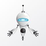 Холодная иллюстрация робота Стоковое Фото