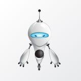Холодная иллюстрация робота Стоковое фото RF