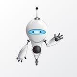 Холодная иллюстрация робота Стоковая Фотография